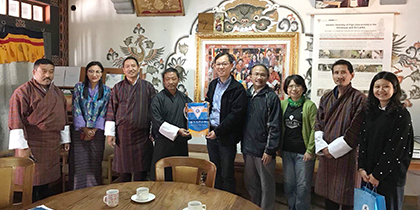 Royal University of Bhutan and NCHU Academic Exchange Marks a Historical Moment